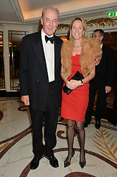 The DUKE & DUCHESS OF ROXBURGHE  at the 24th Cartier Racing Awards held at The Dorchester, Park Lane, London on 11th November 2014.
