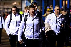England U20 arrive at Godlington Road for the Six Nations fixture against Italy U20 - Mandatory by-line: Robbie Stephenson/JMP - 08/03/2019 - RUGBY - Goldington Road - Bedford, England - England U20 v Italy U20 - Six Nations U20