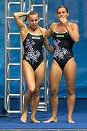 Tania CAGNOTTO, Francesca DALLAPE' ITA  medal<br /> 3m synchro women <br /> Rio de Janeiro XXXI Olympic Games <br /> Olympic Aquatics Stadium <br /> diving  07/08/2016<br /> Photo Giorgio Scala/Deepbluemedia/Insidefoto