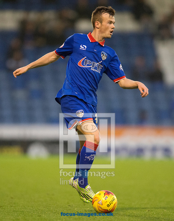 Cameron Dummigan of Oldham Athletic during the Sky Bet League 1 match at Boundary Park, Oldham<br /> Picture by Russell Hart/Focus Images Ltd 07791 688 420<br /> 31/10/2015