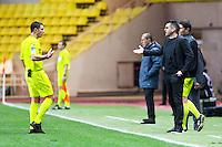 Nicolas RAINVILLE / Jocelyn GOURVENNEC  - 14.01.2015 - Monaco / Guingamp - 1/4Finale Coupe de la Ligue<br /> Photo : Jean Christophe Magnenet / Icon Sport