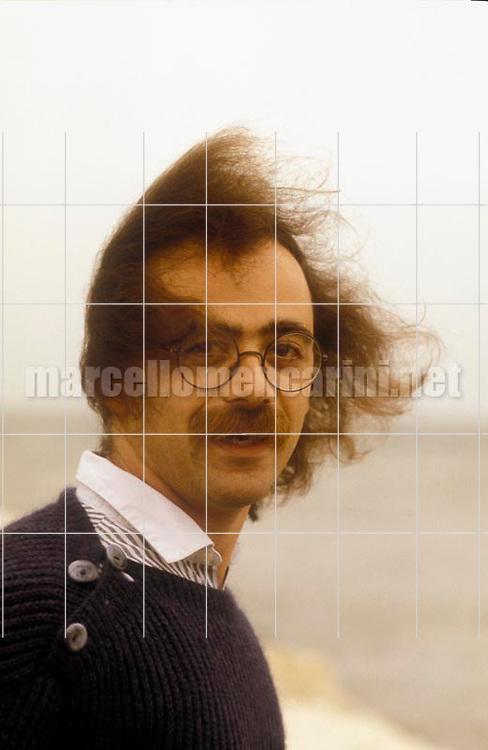 Venice Lido, Venice Film Festival 1983. Italian actor-director Maurizio Nichetti / Lido di Venezia, Mostra del Cinema di Venezia 1983. Il regista-attore Maurizio Nichetti - © Marcello Mencarini