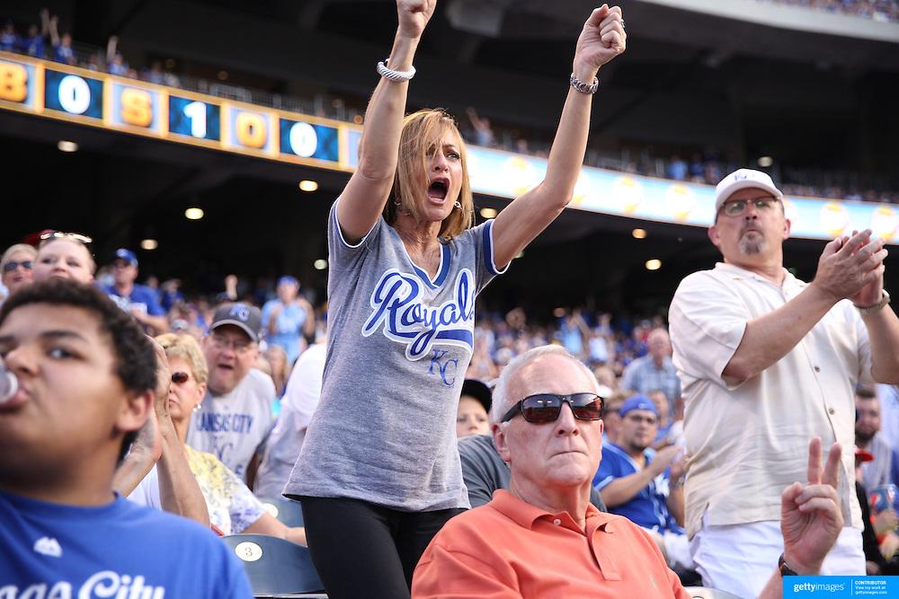 Kansas City Royals Vs Chicago White Sox,  Kauffman Stadium, Kansas, Missouri, USA. 8th August 2015. Photo Tim Clayton
