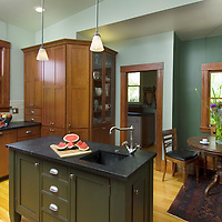 Residential Kitchen Remodel in wood