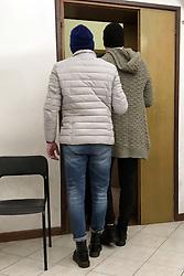 RICCARDO VINCELLI PORTATO IN AULA<br /> SENTENZA PROCESSO PER L'OMICIDIO DI SALVATORE VINCELLI E NUNZIA DI GIANNI A PONTELANGORINO
