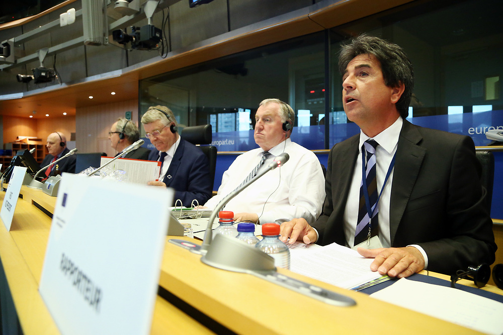 11 May 2017, 123rd Plenary Session of the European Committee of the Regions <br /> Belgium - Brussels - May 2017 <br /> <br /> Mr Roberto Pella ( IT/EPP)<br /> <br /> &copy; European Union / Patrick Mascart