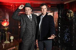 RELEASE DATE: December 21, 2018 TITLE: Holmes & Watson STUDIO: Columbia Pictures DIRECTOR: Etan Cohen PLOT: A humorous take on Sir Arthur Conan Doyle's classic mysteries featuring Sherlock Holmes and Doctor Watson. STARRING: JOHN C. REILLY and WILL FERRELL at photocall. (Credit Image: © Columbia Pictures/Entertainment Pictures/ZUMAPRESS.com)
