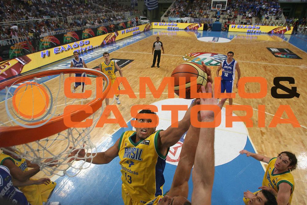DESCRIZIONE : Atene Athens 2008 Fiba Olympic Qualifying Tournament For Men Grecia Brasile Greece Brazil<br /> GIOCATORE : Joao Paulo<br /> SQUADRA : Brasile<br /> EVENTO : 2008 Fiba Olympic Qualifying Tournament For Men <br /> GARA : Grecia Brasile<br /> DATA : 16/07/2008 <br /> CATEGORIA : Tiro<br /> SPORT : Pallacanestro <br /> AUTORE : Agenzia Ciamillo-Castoria/G.Ciamillo<br /> Galleria : 2008 Fiba Olympic Qualifying Tournament For Men<br /> Fotonotizia : Atene Athens 2008 Fiba Olympic Qualifying Tournament For Men Grecia Brasile<br /> Predefinita :