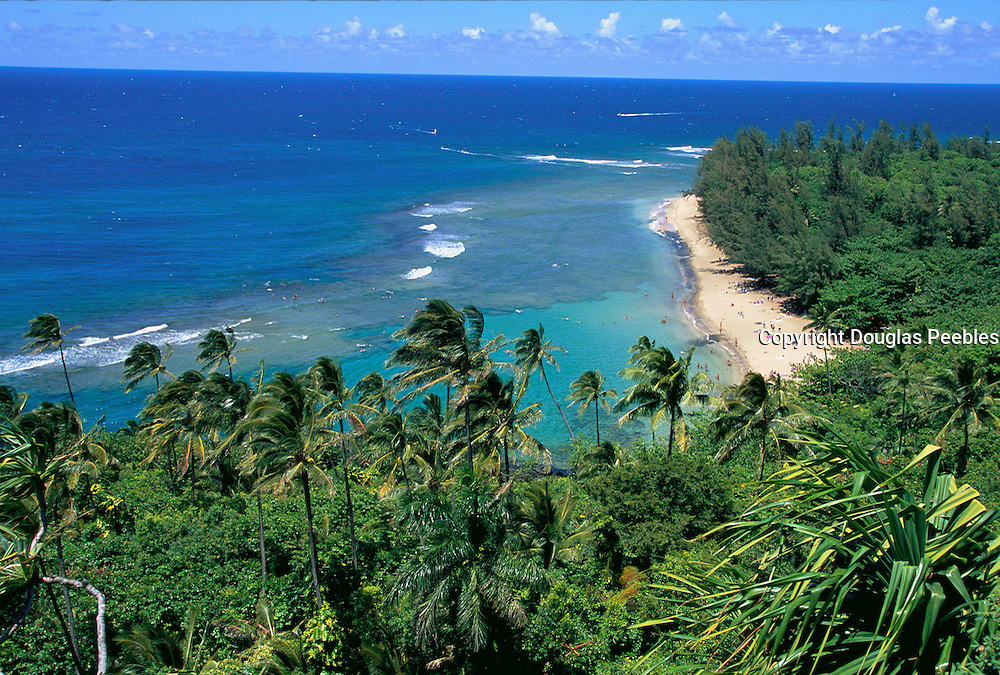 Ke'e Beach, Haena, Kauai, Hawaii, USA<br />