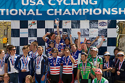 Division 2 team omnium winners Massachusetts Institute of Technology, Dartmouth College, Western Washington University, Colorado School of Mines, and Yale University.  Podium awards were given out after The 2008 USA Cycling Collegiate National Championships Criterium event held in Fort Collins, CO on May 11, 2008.