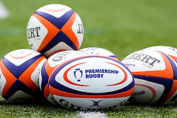Premiership Rugby balls - Mandatory by-line: Robbie Stephenson/JMP - 06/05/2019 - RUGBY - Kingston Park Stadium - Newcastle upon Tyne, England - Newcastle Falcons 'A' v Exeter Braves - Premiership Rugby Shield Semi-Final
