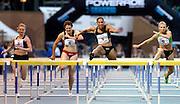 &copy; Filippo Alfero<br /> XIII Meeting Internazionale di Atletica Leggera Primo Nebiolo<br /> Torino, 08/06/2012<br /> sport atletica<br /> Nella foto: 100m ostacoli femminili, da sx: Yevheniya Snihur - UKR, Micol Cattaneo - ITA, Lolo Jones - USA e Yuliya Kondakova RUS