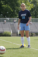 North Carolina's Betsy Frederick during pregame warmups on Sunday September 17th, 2006 at Koskinen Stadium on the campus of the Duke University in Durham, North Carolina. The University of North Carolina Tarheels defeated the University of Florida Gators 1-0 in an NCAA Division I Women's Soccer game.