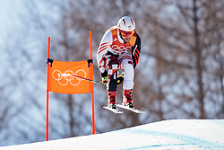 13.02.2018, Jeongseon Alpine Centre, Pyeongchang, KOR, PyeongChang 2018, Ski Alpin, Herren, Kombination, im Bild Natko Zrncic Dim (CRO) // Natko Zrncic Dim of Croatia during the Mens Ski Men's Alpine Combined of the Pyeongchang 2018 Winter Olympic Games at the Jeongseon Alpine Centre in Pyeongchang, South Korea on 2018/02/13. EXPA Pictures © 2018, PhotoCredit: EXPA/ Johann Groder