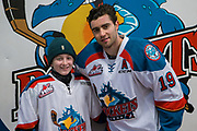 KELOWNA, CANADA - FEBRUARY 12:  Pepsi Player of the Game with Dillon Dube #19 of the Kelowna Rockets at the Kelowna Rockets game on February 12, 2018 at Prospera Place in Kelowna, British Columbia, Canada.  (Photo By Cindy Rogers/Nyasa Photography,  *** Local Caption ***