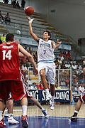 DESCRIZIONE : Roseto Degli Abruzzi Giochi del Mediterraneo 2009 Mediterranean Games Turchia Italia Turkey Italy Final Men<br /> GIOCATORE : Andrea Cinciarini<br /> SQUADRA : Italia Italy<br /> EVENTO : Roseto Degli Abruzzi Giochi del Mediterraneo 2009<br /> GARA : Turchia Italia Turkey Italy <br /> DATA : 04/07/2009<br /> CATEGORIA : tiro penetrazione<br /> SPORT : Pallacanestro<br /> AUTORE : Agenzia Ciamillo-Castoria/C.De Massis<br /> Galleria : Giochi del Mediterraneo 2009<br /> Fotonotizia : Roseto Degli Abruzzi Giochi del Mediterraneo 2009 Mediterranean Games Turchia Italia Turkey Italy Final Men <br /> Predefinita :