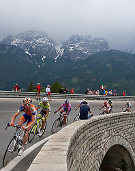 20.05.2011, Großglockner Hochalpenstrasse, AUT, Giro d´ Italia 2011, 13. Etappe, Spilimbergo - Großglockner, im Bild das Spitzenfeld beim Anstieg auf den Iselsberg, in Führung Pieter Weening (NED) Rabobank // the leaders in the rise of the Iselsberg, in front Pieter Weening (NED) Rabobank during the Giro d´ Italia 2011, Stage 13, Spilimbergo - Großglockner, Austria, 2011-05-07, EXPA Pictures © 2011, PhotoCredit: EXPA/ J. Feichter