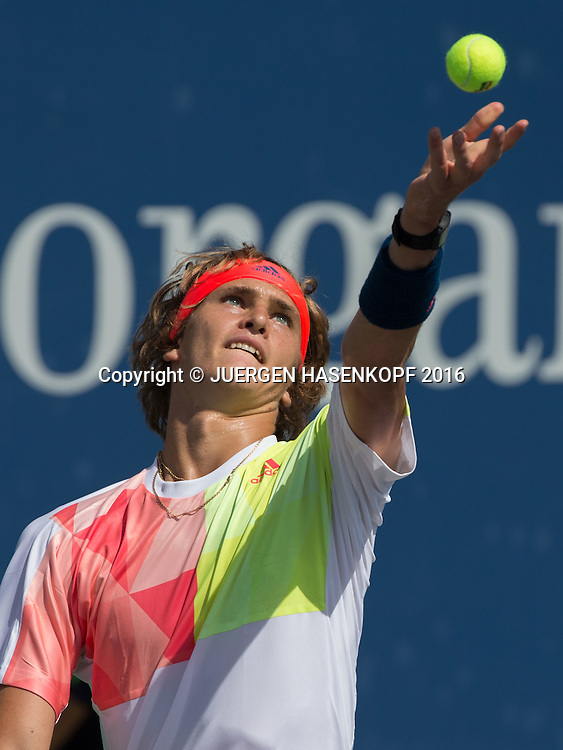 ALEXANDER ZVEREV (GER)<br /> <br /> Tennis - US Open 2016 - Grand Slam ITF / ATP / WTA -  USTA Billie Jean King National Tennis Center - New York - New York - USA  - 30 August 2016.