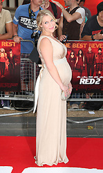 Red 2 UK film premiere.<br /> Millie Clode during the premiere of the sequel to 2010's graphic novel adaption, about a group of retired assassins. <br /> Empire Leicester Square<br /> London, United Kingdom<br /> Monday, 22nd July 2013<br /> Picture by i-Images