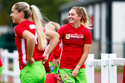 Lucy Graham of Bristol City prior to kick off - Mandatory by-line: Ryan Hiscott/JMP - 14/10/2018 - FOOTBALL - Stoke Gifford Stadium - Bristol, England - Bristol City Women v Birmingham City Women - FA Women's Super League 1