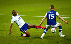 Chris O'Grady of Chesterfield tackles Tom Lees of Sheffield Wednesday - Mandatory by-line: Robbie Stephenson/JMP - 08/08/2017 - FOOTBALL - Hillsborough - Sheffield, England - Sheffield Wednesday v Chesterfield - Carabao Cup