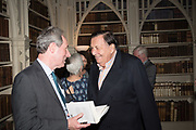 STEPHEN CLARKE; BARRY HUMPHRIES, Rception l to celebrate the publication of an Everyman's Library edition of Horace Walpole's Letters – one of the finest series of letters in the English language. Monday 12 June fStrawberry Hill, 268 Waldegrave Road, Twickenham, LONDON.