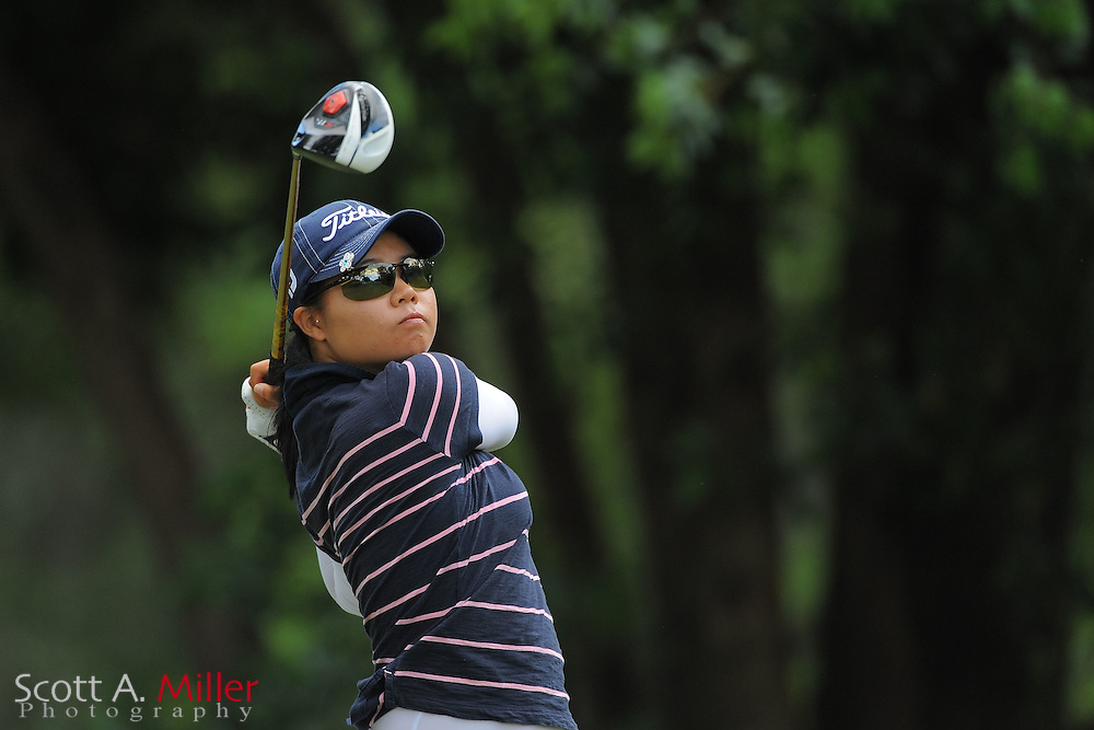 Sue Kim during the final round of the Symetra Tour's Florida's Natural Charity Classic at the Lake Region Yacht and Country Club on March 25, 2012 in Winter Haven, Fla. ..©2012 Scott A. Miller.