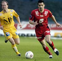 Fotball, Tippeligaen, 05 Mai 2005, Brann - Bodø/Glimt, Paul Scharner, Brann. Foto: Kjetil Espetvedt, Digitalsport.
