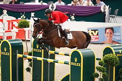 Lamaze Eric (CAN) - Hickstead<br /> Rolex FEI World Cup Final Jumping 2011<br /> © Hippo Foto - Leanjo de Koster