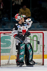 30.10.2016, Ice Rink, Znojmo, CZE, EBEL, HC Orli Znojmo vs HC TWK Innsbruck Die Haie, 40. Runde, im Bild Andy Chiodo (HC TWK Innsbruck) // during the Erste Bank Icehockey League 40th round match between HC Orli Znojmo and HC TWK Innsbruck Die Haie at the Ice Rink in Znojmo, Czech Republic on 2016/10/30. EXPA Pictures © 2017, PhotoCredit: EXPA/ Rostislav Pfeffer