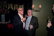 RICHARD WILSON; JOHN REID, The Supper Club, party which follows evening of 50  dinner parties raising money for the Terrence Higgins Trust. CafŽ de Paris, 3 Coventry Street, London, 28 October 2008. *** Local Caption *** -DO NOT ARCHIVE -Copyright Photograph by Dafydd Jones. 248 Clapham Rd. London SW9 0PZ. Tel 0207 820 0771. www.dafjones.com