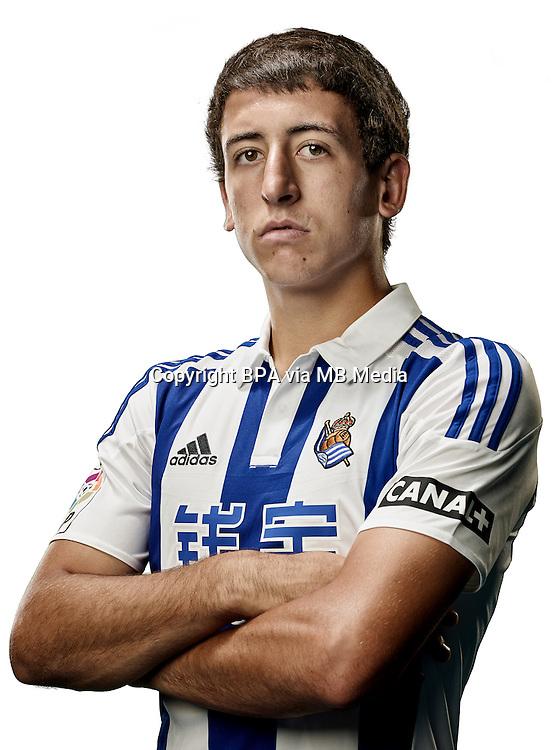 Spain - Liga BBVA 2015-2016 / <br /> ( Real Sociedad de Futbol ) - <br /> Mikel Oyarzabal