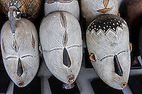 African Masks, Amatuli Fine Art, Johannesburg, South Africa.