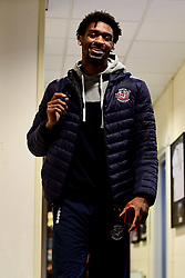 Levi Bradley of Bristol Flyers arrives at SGS Wise Arena prior to kick off - Photo mandatory by-line: Ryan Hiscott/JMP - 15/11/2019 - BASKETBALL - SGS Wise Arena - Bristol, England - Bristol Flyers v London City Royals - British Basketball League Cup