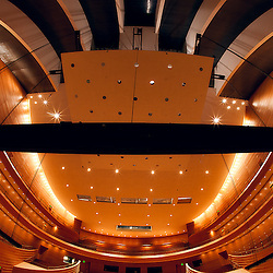 Helzberg Hall at the Kauffman Center for the Performing Arts prior to completion.