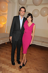 FRITZ VON WESTENHOLZ and CAROLINE SIEBER at Vogue's Fantastic Fashion Fantasy Party in association with Van Cleef & Arpels to celebrate Vogue's Secret Address Book held at One Marylebone Road, London NW1 on 3rd November 2008.