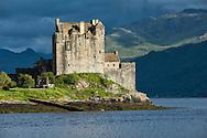 Europe, United Kingdom, Scotland, Dornie,Eilean Donan Castle, west,