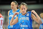 DESCRIZIONE : Riga Latvia Lettonia Eurobasket Women 2009 Qualifying Round Russia Italia Russia Italy<br /> GIOCATORE : Chiara Pastore Adriana Grasso<br /> SQUADRA : Italia Italy<br /> EVENTO : Eurobasket Women 2009 Campionati Europei Donne 2009 <br /> GARA : Russia Italia Russia Italy<br /> DATA : 14/06/2009 <br /> CATEGORIA : delusione<br /> SPORT : Pallacanestro <br /> AUTORE : Agenzia Ciamillo-Castoria/M.Marchi