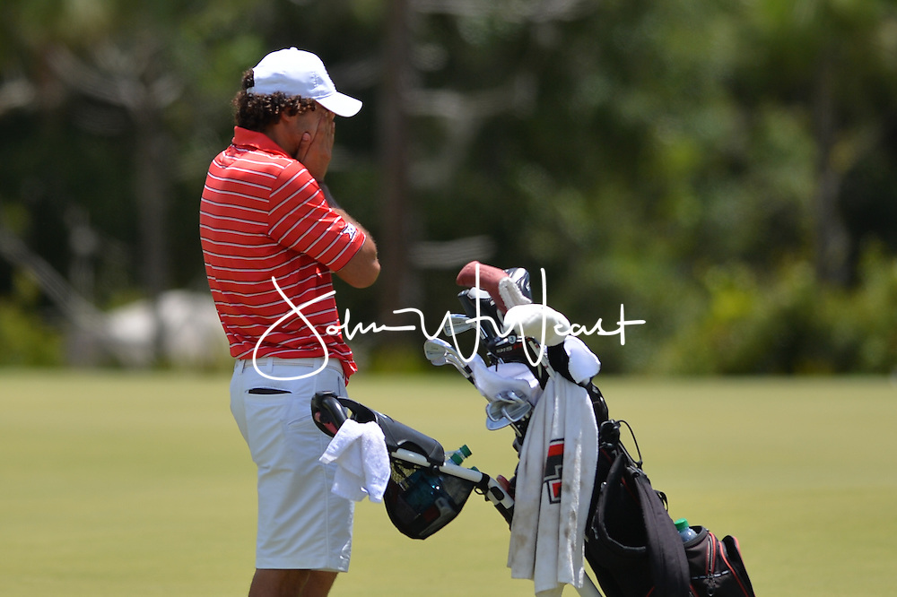 Clement Sordet during  the second round of the NCAA Golf Championships at the Concession Golf Club in Bradenton, FL.
