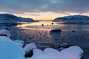 Winter mood at Voldsund, nearby Fosnavåg, Norway | Vinterstemning i fjøra på Voldsund.