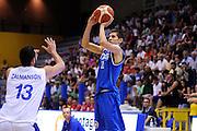 LIGNANO SABBIADORO, 15 LUGLIO 2015<br /> BASKET, EUROPEO MASCHILE UNDER 20<br /> ITALIA-ISRAELE<br /> NELLA FOTO: Diego Flaccadori<br /> FOTO FIBA EUROPE/CASTORIA