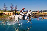 Eventing (equestrian triathlon), Cross Country event, The Event at Rebecca Farms, Kalispell, Montana, Tamra Smith, Irish Sport Horse