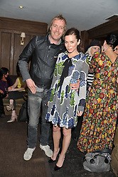 RHYS IFANS and ANNA FRIEL at a party to celebrate the publication of Vintage Craft - 50 Craft Projects and Home Styling Advice by Pearl Lowe held at Soho House, Old Compton Street, London on 8th May 2013.