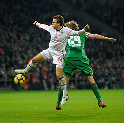Generic football action from Germany.