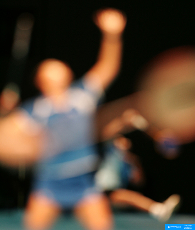 Abstract Impressions of Sport.Badminton