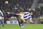 Brighton & Hove Albion v Leicester City 24/11/18