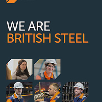 Britsih Steel Rebrand photography by Steve Morgan