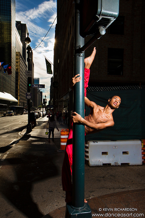 Street Pole- Dance as Art The New York Photography Project featuring Andre Street