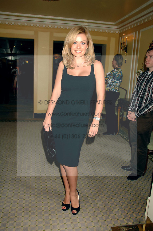 KATHERINE JENKINS at the South Bank Show Awards held at The Dorchester, Park Lane, London on 29th January 2008.<br /><br />NON EXCLUSIVE - WORLD RIGHTS