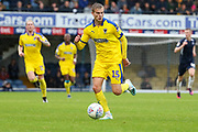 AFC Wimbledon attacker Marcus Forss (15) dribbling during the EFL Sky Bet League 1 match between Southend United and AFC Wimbledon at Roots Hall, Southend, England on 12 October 2019.
